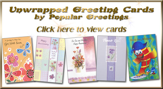 Unwrapped Everyday Greeting Card Wholesale Greeting Cards By